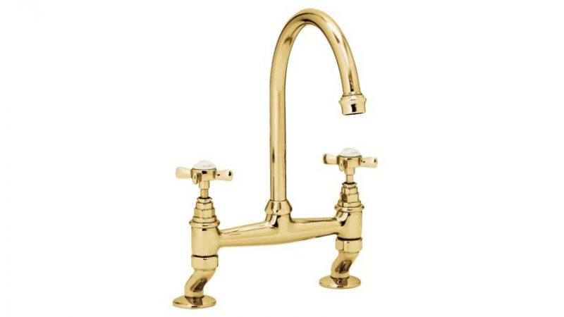 Gold Kitchen Taps and Mixers