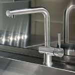 Brushed Steel Sink Mixer